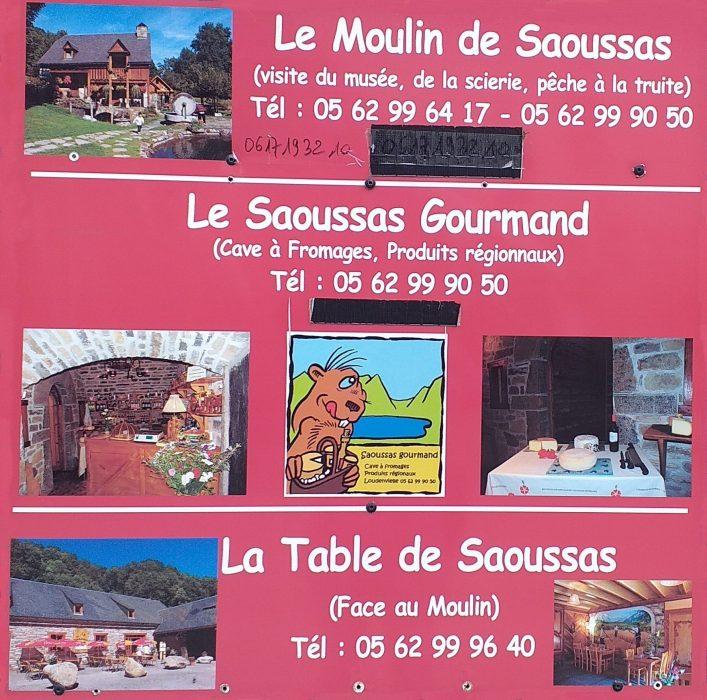 Le Moulin de Saoussas cartel