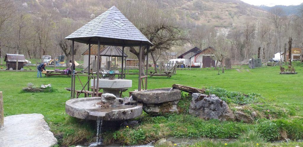 Le Moulin de Saoussas vista